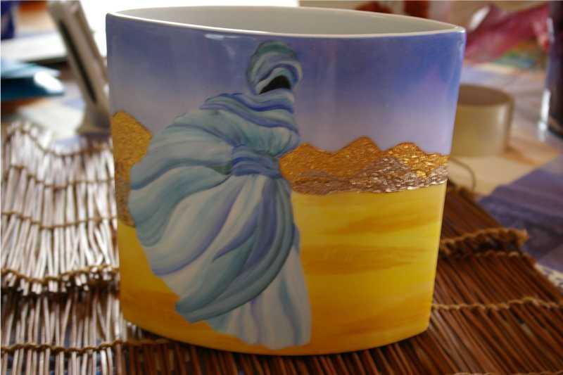 Peinture porcelaine for Peinture sur email